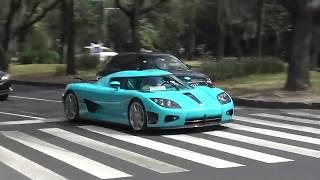 Momento del choque del auto de 30 millones en la CDMX thumbnail