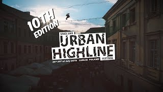 Tricklines over the net – Urban Highline Festival 2018