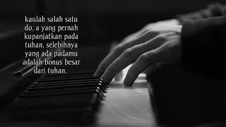 "Kombinasi kata"" dan musik piano romantis status wa"