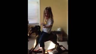 Julianne's Rocking Horse Ride