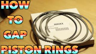 HOW TO GAP PISTON RINGS | 240SX TURBO BUILD