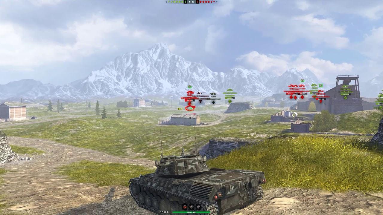 World of Tanks Blitz - Rating Battle - Falls Creek - Leo 1 - Snipe-a-thon