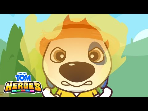 Talking Tom Heroes - The Jealous Pumpkin (Episode 18)