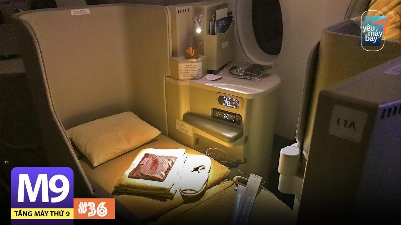 [M9] #36: Hạng thương gia Vietnam Airlines đi Hàn Quốc trên Airbus A350 | Yêu Máy Bay