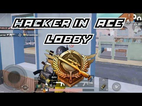 Hacker In Ace Lobby??   Pubg Mobile