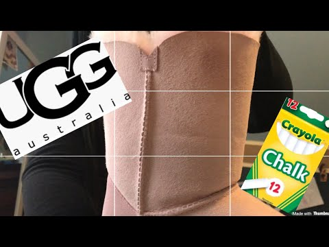 How To Clean Uggs- DIY Remove Oil Stain From Uggs