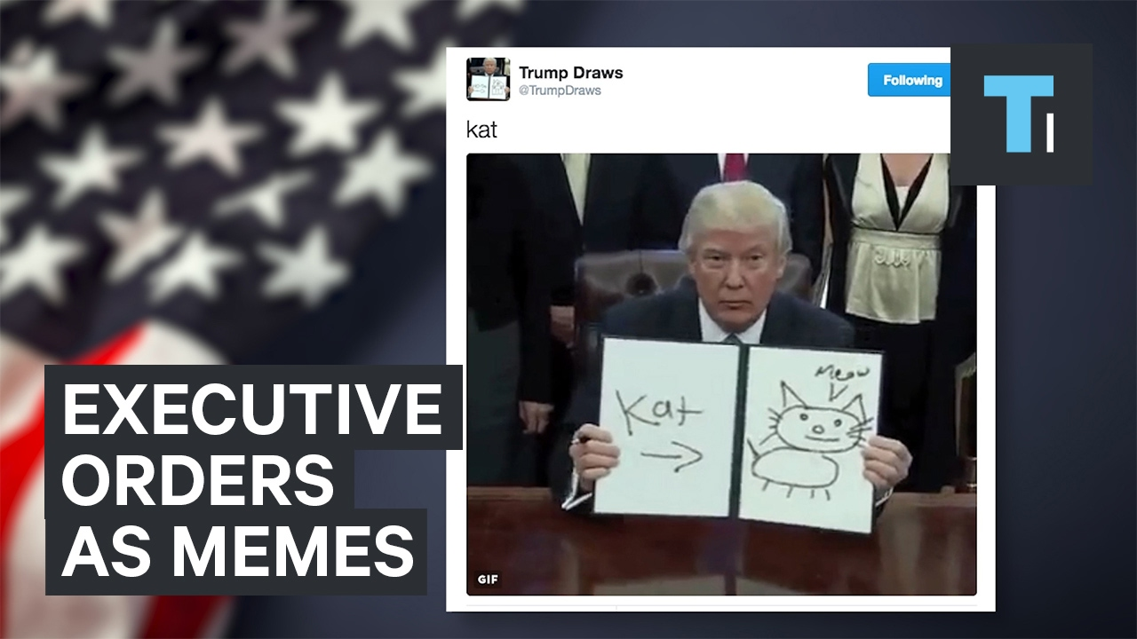 maxresdefault trump's executive orders turned into hilarious memes youtube