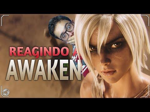 REAGINDO a Awaken (ft. Valerie Broussard) | League of Legends Cinematic S9 thumbnail