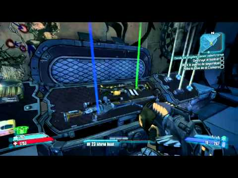 BorderLands 2 - Guias y trucos - Cap2: Ubicacion cofres de armas (Southern Shelf y Three Horns)