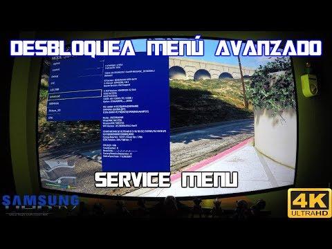 Activar Opción Avanzado Del Menú De Servicio Samsung 4k HDR MU KU KS NU
