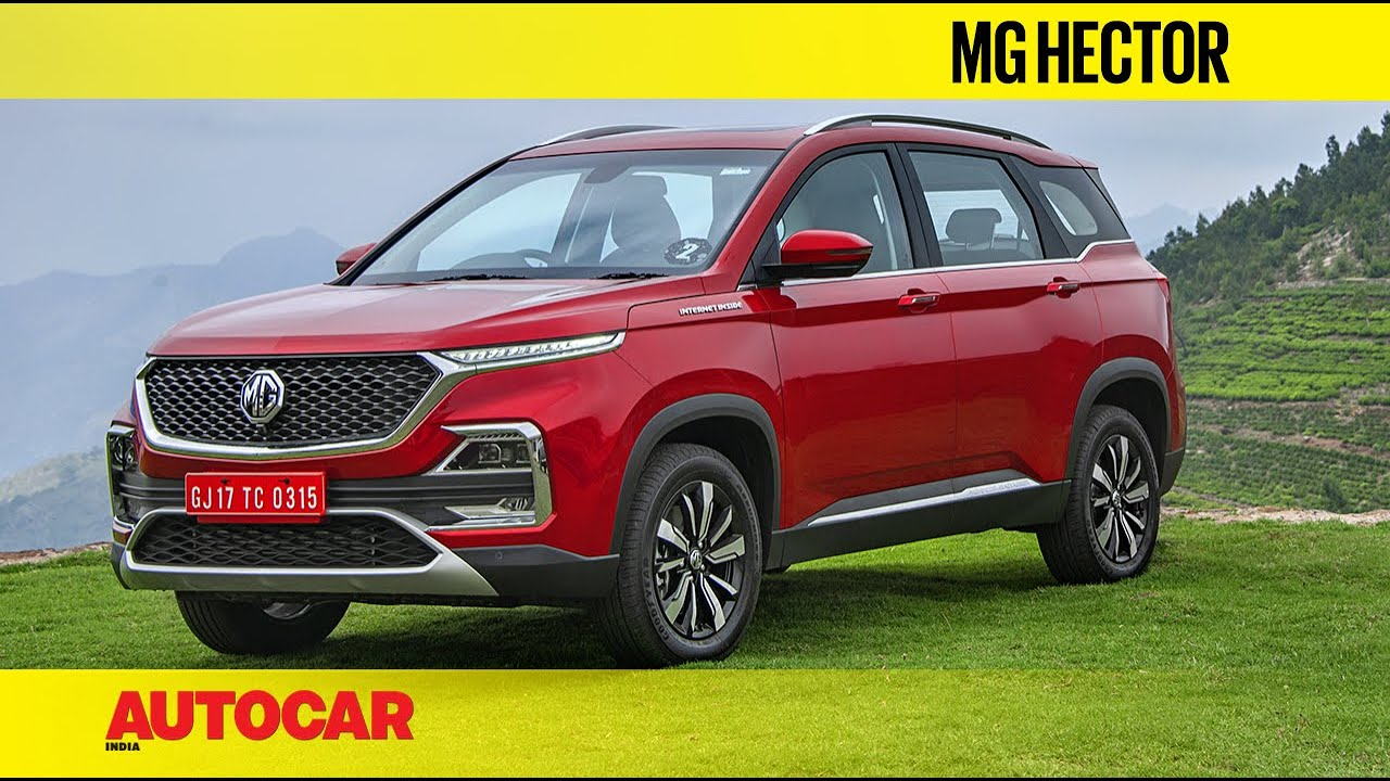 New Mg Hector Suv India Video Review Autocar India