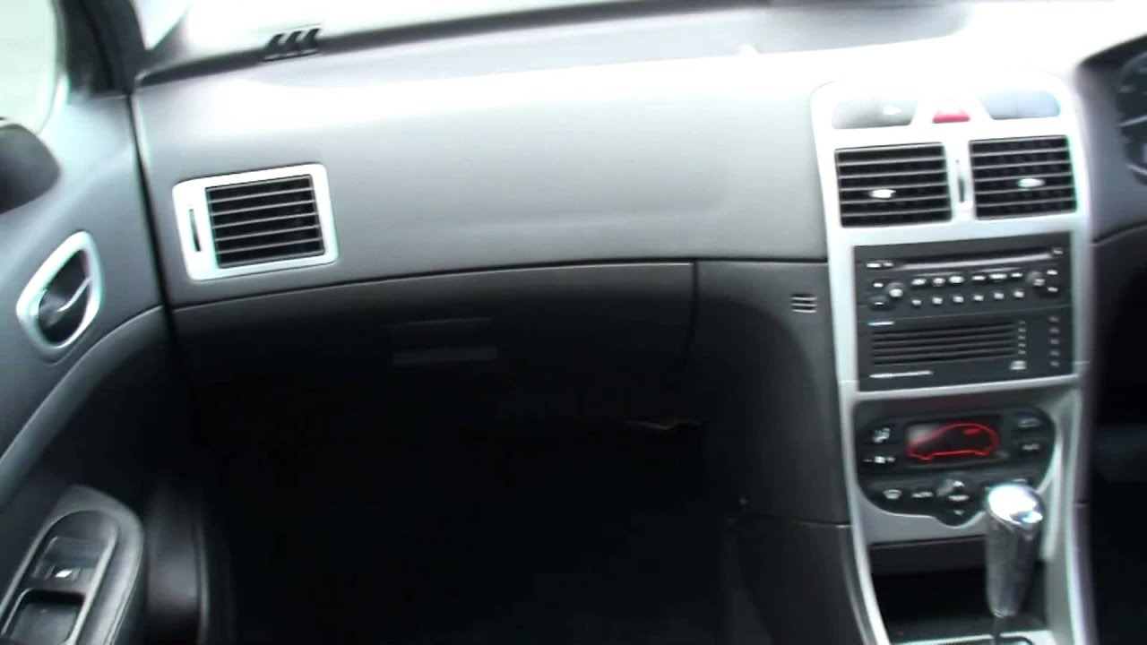 2003 Peugeot 307 Interior - YouTube