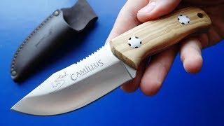 Брутален ли Брут? Испано- Американский нож- Camillus Les Stroud Valiente Brut