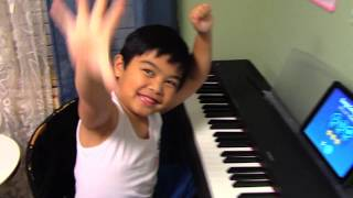 """6-year-old Renzo plays """"Piano Man"""" with Simply Piano by JoyTunes"""