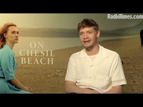 On Chesil Beach | Billy Howle Talks Saoirse Ronan and Dating