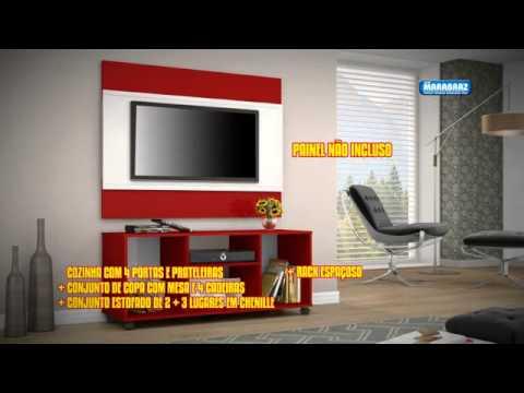Limpa estoque casa completa lojas marabraz youtube for Amueblar casa completa