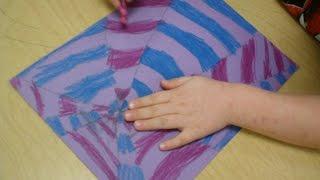 Art Lessons For Kids: Optical Illusion Pt1