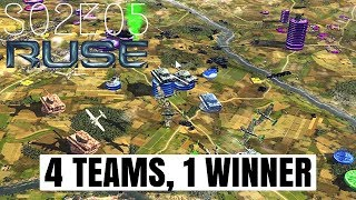 R.U.S.E. Multiplayer: 4 Teams, 1 Winner - S02E05