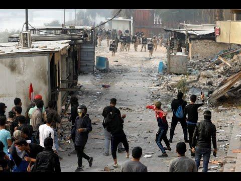 مُصابون في احتجاجات النجف: مسلحون في مرقد الحكيم أطلقوا النار علينا  - نشر قبل 5 ساعة
