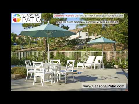 Seasonal Patio Commercial Patio Umbrellas