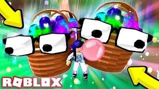 SEGRETO CESTO DI PASQUA PET TEAM DI 4! Roblox Bubble Gum Simulator