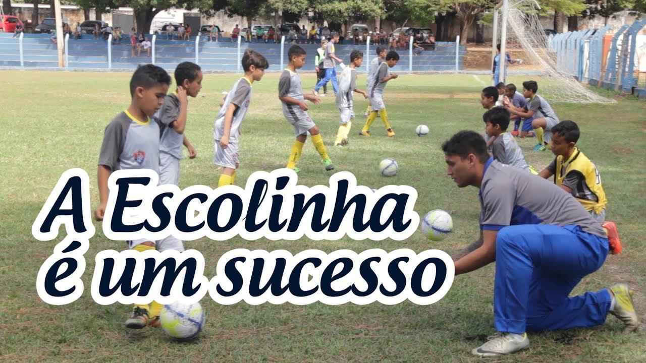 ESCOLINHA DO PARACATU FC É UM SUCESSO ⚽ - YouTube 635a6851ae1ce