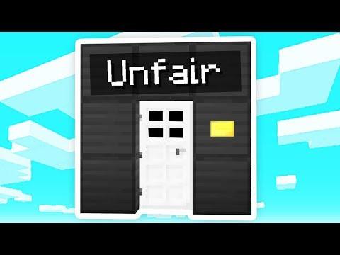 The UNFAIR Minecraft Door..