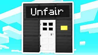 The UNFAIR Minecraft Door..