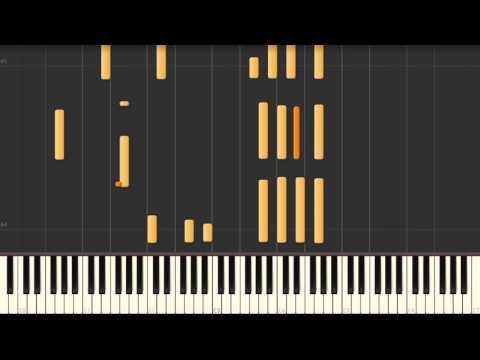 Satin Doll - jazz piano solo Synthesia tutorial