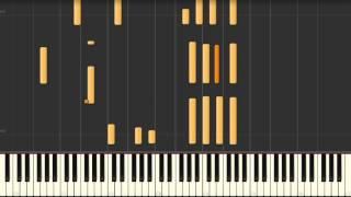 Satin Doll - jazz piano solo Synthesia tutorial