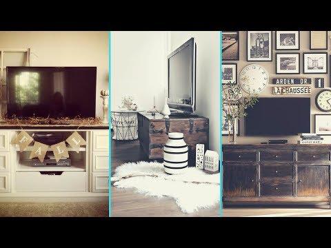 ❤diy-rustic-shabby-chic-style-tv-stand-/-wall-decor-ideas-❤|-home-decor-ideas|-flamingo-mango