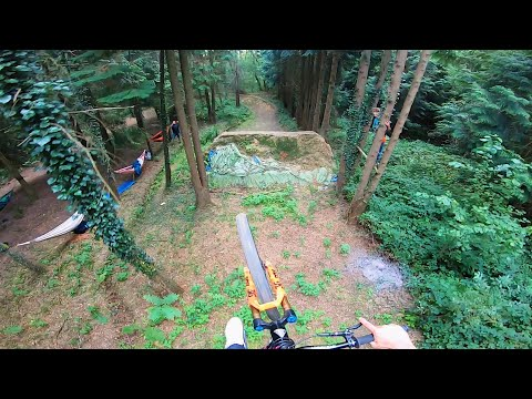 RIDING THESE MONSTER MTB DIRT JUMPS!! TRAILS JAM DAY!