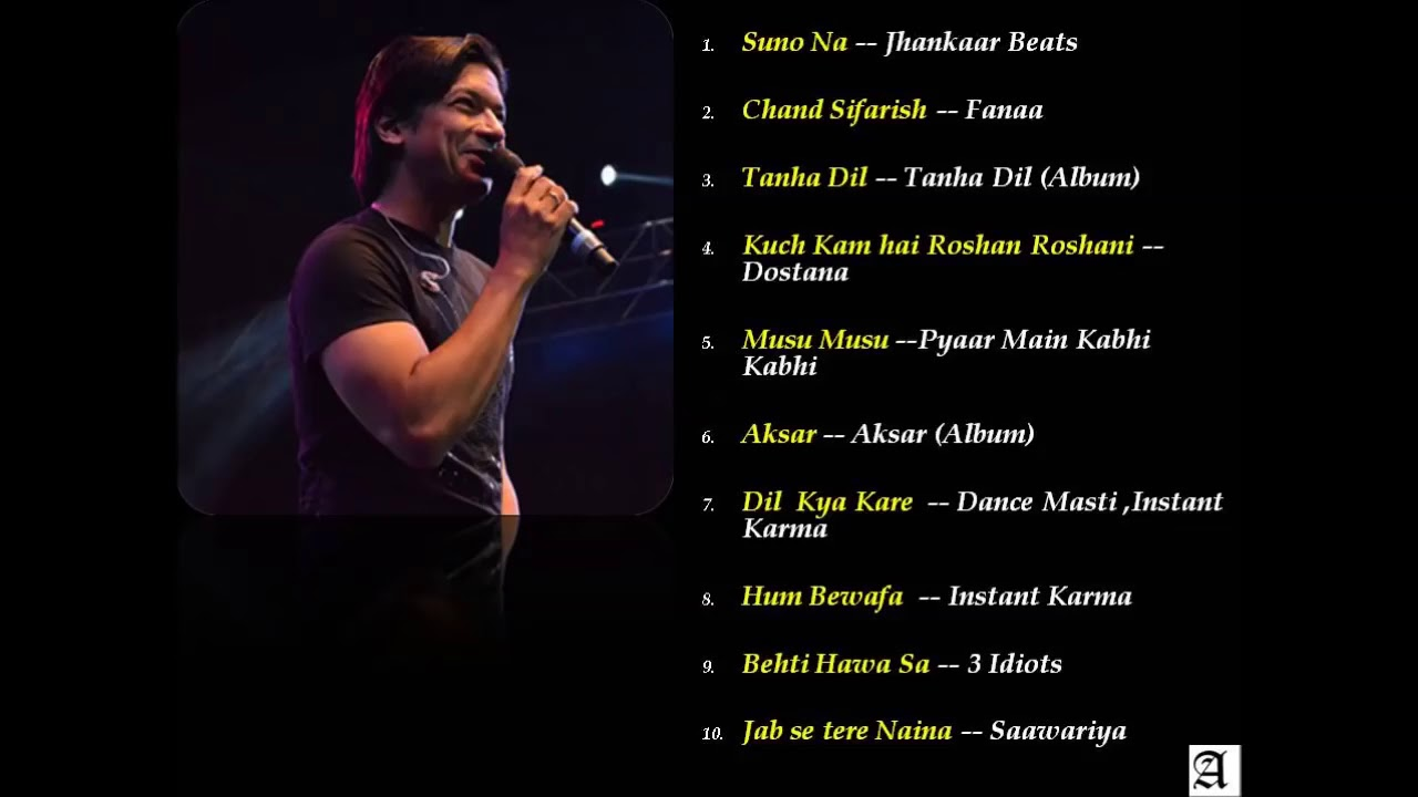 Download Top 10 All time hits by Shaan