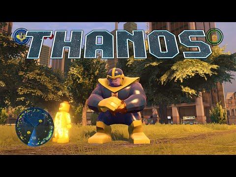 LEGO Marvel's Avengers - Thanos Gameplay and Unlock Location - YouTube