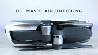 DJI Mavic Air Unboxing and Setup