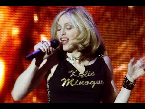 Madonna and Kylie Minogue Duet