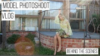 MODEL PHOTOSHOOT | BEHIND THE SCENES - On location