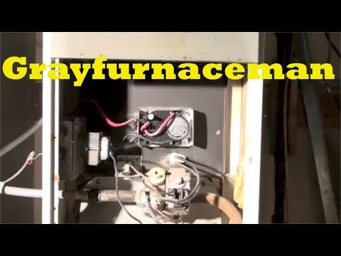 How to relight the pilot on the gas furnace