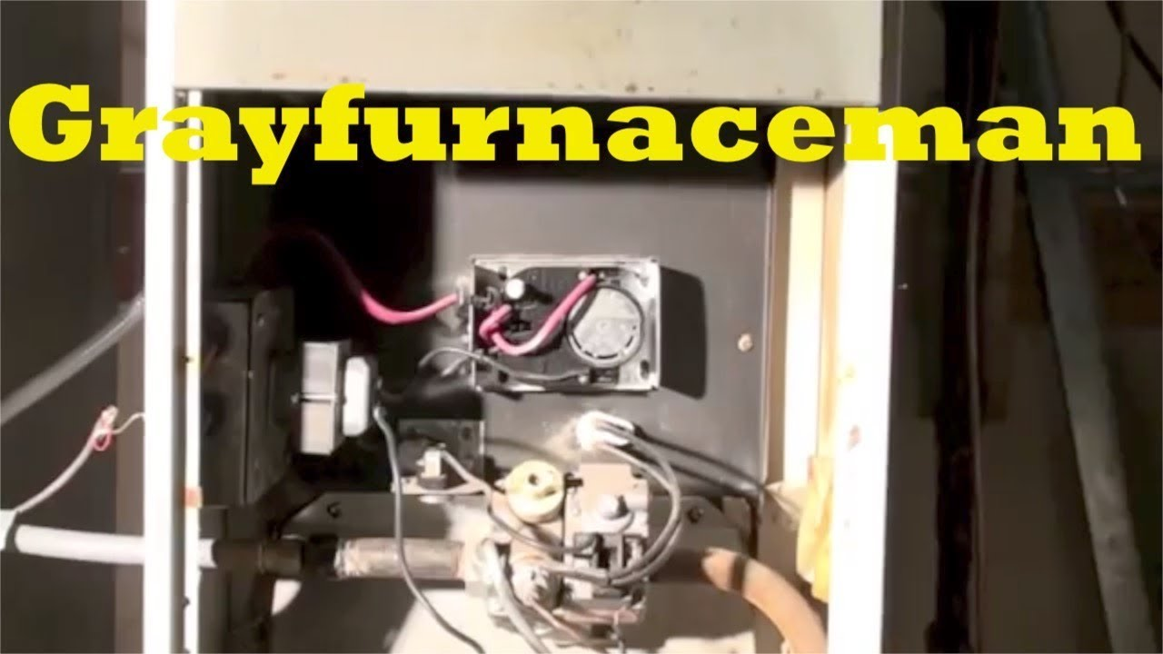 How To Relight The Pilot On The Gas Furnace Youtube