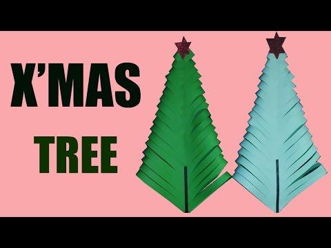 How to Make a Paper Xmas Tree (DIY Tutorial)