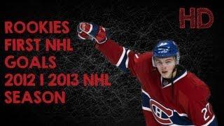 rookies 1st nhl goals   20122013 nhl season hd