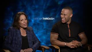 DeVon Franklin & Roxann Dawson Interview: Breakthrough