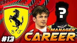 F1 2019 FERRARI MANAGER CAREER - SCOUTING OUT A NEW POTENTIAL DRIVER! #13