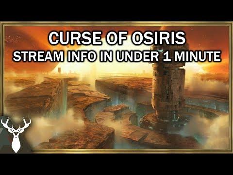 "Destiny 2 - Curse of Osiris ""New Raid Activities"" Level Cap Increase"
