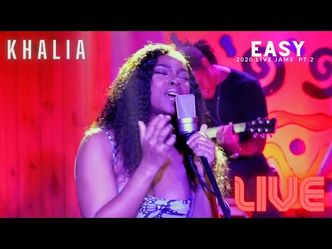 Khalia - Easy (Live Acoustic)