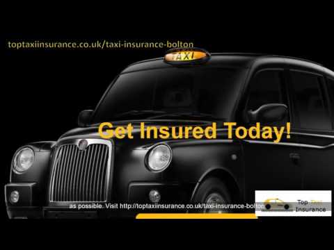 Bolton Cheap Taxi Insurance