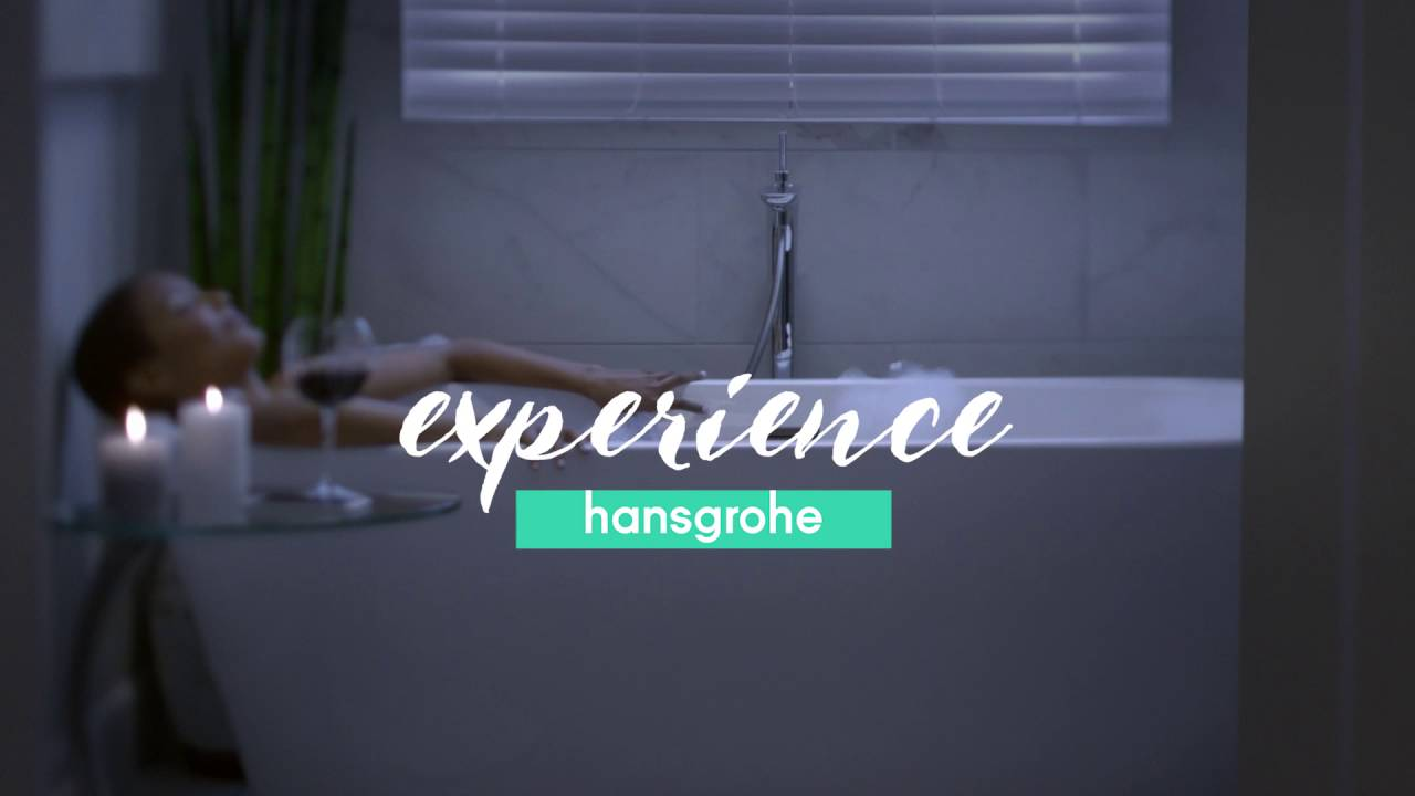 hansgrohe Experience Hansgrohe Commercial 1 - YouTube