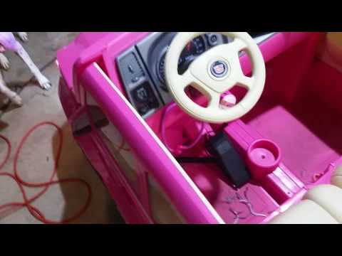 Wrapping Up The Barbie Cadillac Escalade Power Wheels