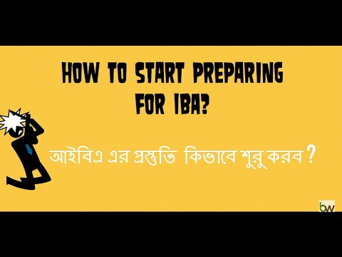 How To Start Your Preparation For IBA (BBA & MBA)