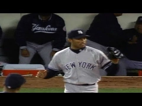 2000 ALDS Gm2: Mariano gets save, Yanks even series
